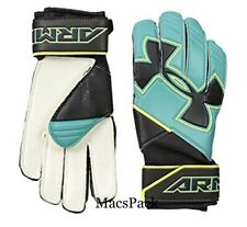 Under Armour Desafio Pro FS Clutch Goal Keepers Gloves Size 7 Teal Punch/Black