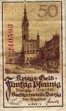 Ro 788 50 Pfennig 1918 Danzig