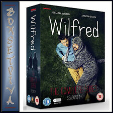 WILFRED - COMPLETE SERIES - SEASONS 1 2 3 & 4 **** BRAND NEW DVD BOXSET***
