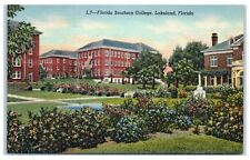 Mid-1900s Florida Southern College, Lakeland, Fl Postcard