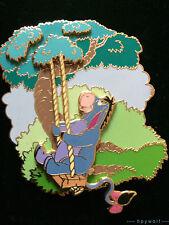 Disney EEYORE ON A TREE SWING Winnie the Pooh LE 500 Jumbo Pin