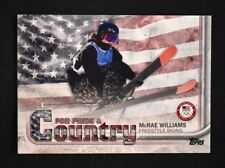 2018 Topps US Winter Olympics Pride and Country #MW McRae Williams