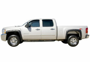 NEW PAINTED FENDER FLARES FOR CHEVY SILVERADO 1500 2007-2013 RIVETED/POCKET