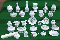 VARIOUS AYNSLEY, COTTAGE GARDEN, PEMBROKE, LITTLE SWEETHEART, WILD TUDOR ETC