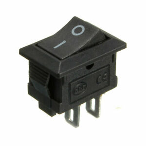 On/Off Switch Rocker 10A Small 12V DC Tension Held Auto/Car/Boat/Truck#bus