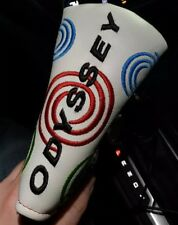 NEW Odyssey Tour Issue Super Swirl Putter Headcover RARE White Color
