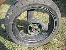 93-95 Kawasaki Ninja ZX7 ZX7r ZX 7 750 750R R 7R ZX750 Rear Wheel Tire Rim Black
