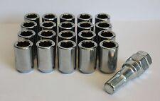 20 x M12 x 1.5 Tuner schmal Alufelgen Radmuttern für Honda CRV FRV HRV CRZ