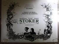 Stoker ORIGINAL UK QUAD CINEMA POSTER Mia Wasikowska, Nicole Kidman 2013