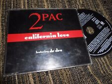 2PAC 2-PAC FEATURING DR DRE CALIFORNIA LOVE(RADIO)/(REMIX)/+2 CD EP 1995