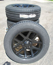 "20"" New Dodge Ram 1500 SRT 10 Style Black Wheels Rims Bridgestone Tires 2223"