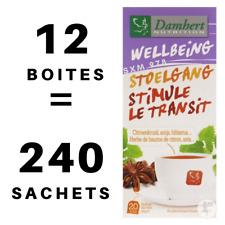 12 Boîtes Tisane Laxative Damhert Perte Poids Minceur Régime Thé Détox Transit