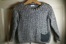 ♡  Next Baby sweater Knitwear Grey warm soft   1 1/2 - 2 Years  100º Cotton   ♡