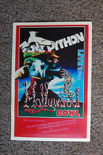 Monty Python Stand Up promotional Poster Live at the Bowl 1982--