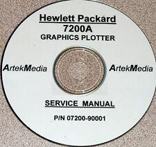 HP 7200A Graphics Plotter Service Manual