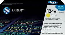 1x tóner HP Color LaserJet 124a 1600 2600n 2605 DN 2605 dtn cm 1015 1017 MFP