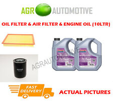 DIESEL OIL AIR FILTER + FS 5W30 OIL FOR LAND ROVER DISCOVERY 2.5 122BHP 1994-98