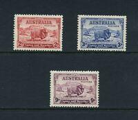 C690  Australia  1934   Merino sheep   3v.     MNH