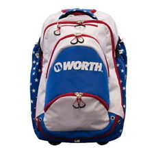 Worth Xl Wheeled Backpack WOXLBP-17 - Red/White/Blue