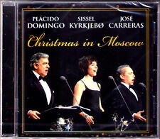 Placido DOMINGO, Jose CARRERAS, Diddel KYRKJEBO CHRISTMAS IN MOSCOW Silent Night