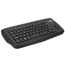 E30 2.4GHz Wireless Keyboard with Trackball Mouse Scroll Wheel Remote S1H8