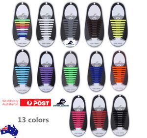 Silicone Shoelaces Elastic Shoe Laces Special No Tie Shoelace for Men & Women