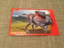 #40 Panini Dinosaurs Like Me sticker / unused / Tarbosaurus