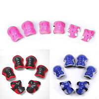 Elbow Wrist Knee Pads Sport Safety Protective Gear Guard for Kids UK