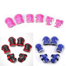 Kids and Teens Elbow Knee Wrist Protective Guard Safety Gear pads skate bike