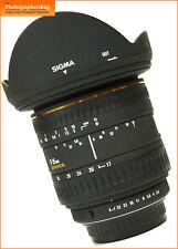 Sigma 17-35mm F2.8-4 Zoom Objektiv Pentax K + Free UK Porto