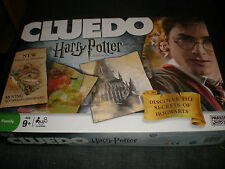 HARRY POTTER CLUEDO BOARD GAME - 100% COMPLETE IN VGC PARKER