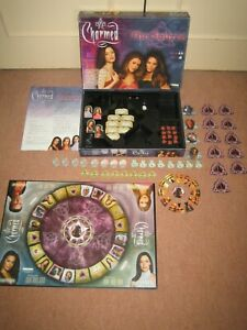Charmed - The Source Rare Board Game by Tilsit + Companion S-Back Book