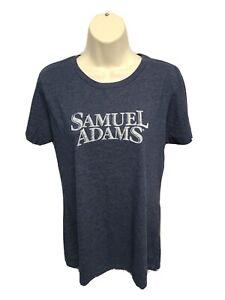 Samuel Adams Womens Large Gray TShirt
