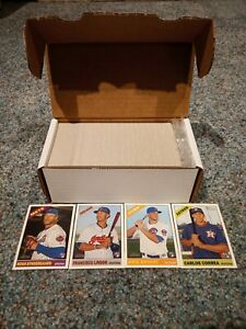 2015 HERITAGE HIGH NUMBER NEAR MASTER #501-725 + 44/50 INSERTS LINDOR BRYANT RC