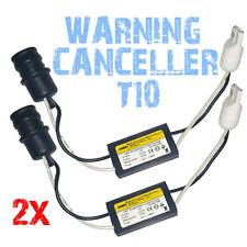 2 RESISTANCE 5W T10 CABLE SANS ERREUR ODB MODULE PLUG & PLAY LED W5W Wy5W 2E6 2E