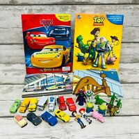 Disney Toy Story & Cars My Busy Books Mini Figures & Playmat Sets Cake Toppers