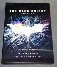 The Dark Knight Trilogy (DVD, 2012, 3-Disc Set)