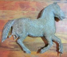 Vintage Antique Tin Horse Weathervane Topper Finial  Parts