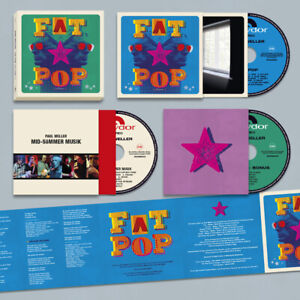 Paul Weller - Fat Pop (Volume 1) (2021, Polydor) CD Box Set