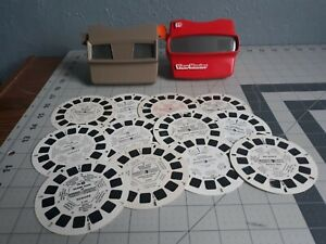 2 Vintage View-Master Viewer Pre-owned with reels