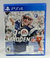 Madden NFL 17 (Sony PlayStation 4, 2016)