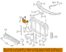 MAZDA OEM 14-15 6 Radiator Core Support-Lower Support GHR1501C0A