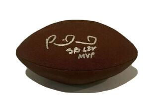 PATRICK MAHOMES AUTOGRAPHED SIGNED KANSAS CITY CHIEFS SUPER BOWL Football Ball!!
