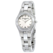 Baume and Mercier Linea Silver Dial Ladies Watch 10009
