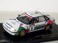 Modelo auto 1 43 Ixo Rally Subaru legado RS #6 1992