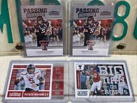 2017 Patrick Mahomes (4) ROOKIE CARD LOT -Passing Grades / Game Day / Score BMOC