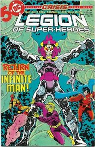 Legion of Super-Heroes (1984) #18 - VF/NM - Return of the Infinite Man / Crisis