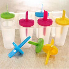 8 Cell Pop Mold Popsicle Maker Lolly Mould Tray Pan Kitchen Frozen Ice Cream New