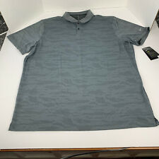 Nike Dri-Fit Polo Shirt Gray Camo NEW Men's Size XXL