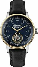 """Ingersoll """"the Miles"""" Men's Watch Automatic Open Heart Leather I08002"""